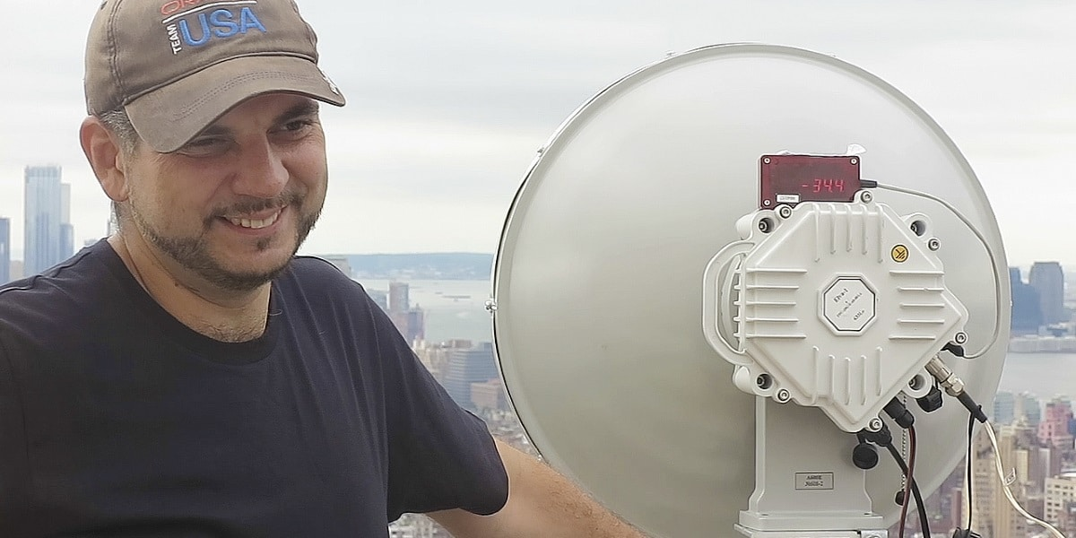 New York City – 10 Gbps Radio that Works at Heavy Rain