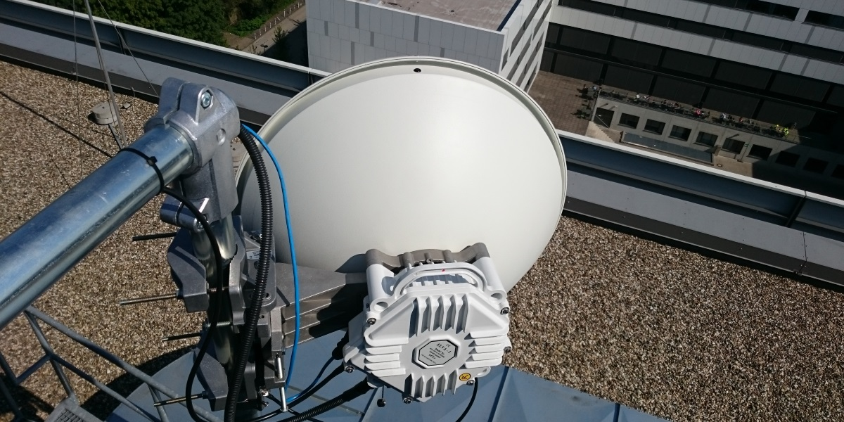 Omnitron Griese installed PPC-10G 10Gbps Link at 3.8 km in Ruhr-University