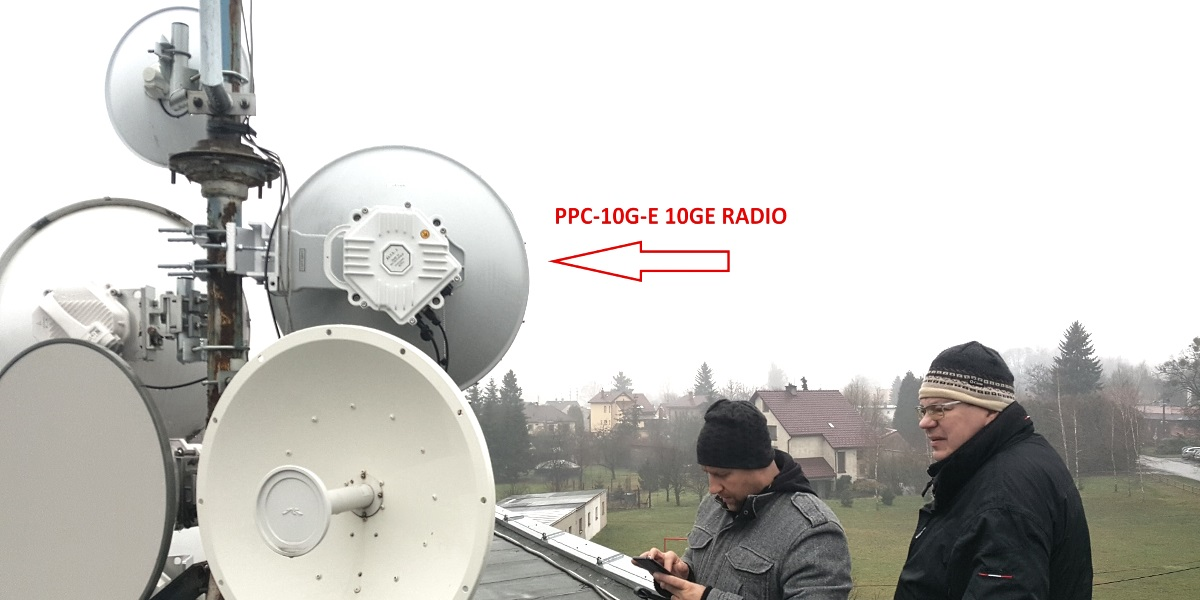 PPC-10G-E 10 Gbps Link Installed in Kopřivnice, Czech Republic