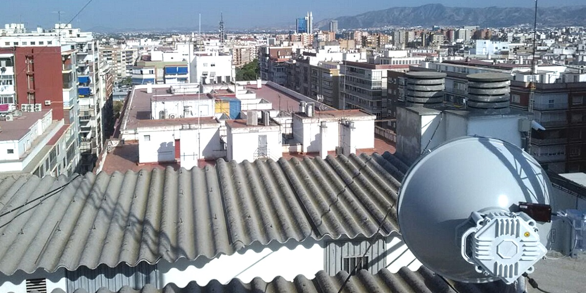 PPC-10G 10 Gbps Link Installed in Murcia, Spain