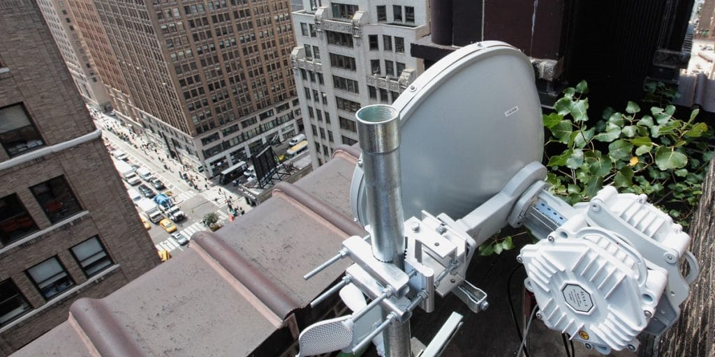20 Gbps radio demonstrated in NY City