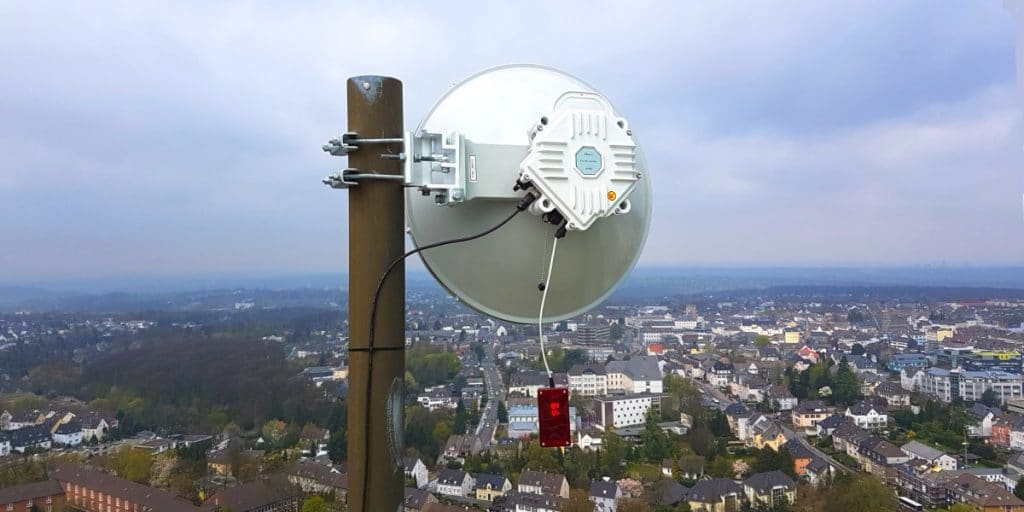 10G radio in Velbert, Germany