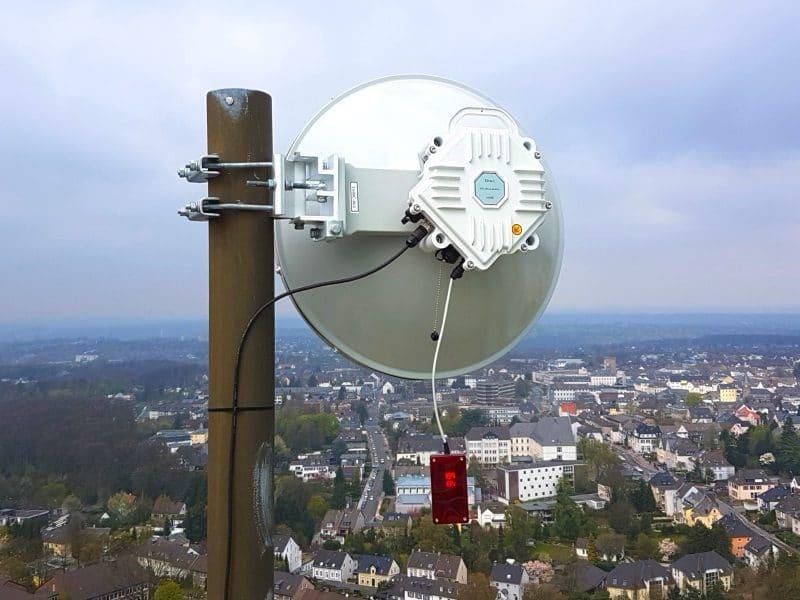 10G radio in Velbert, Germany