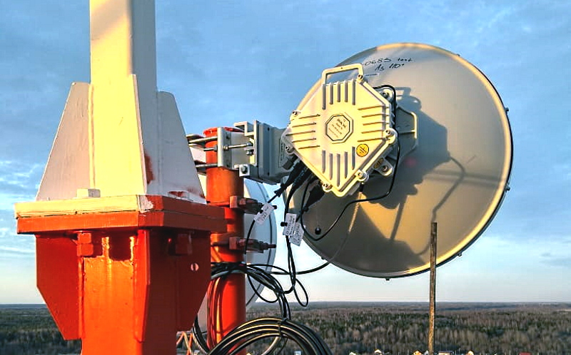 New 19.5 km Record Distance Wireless Path for ELVA-1 70/80 GHz 10 Gbps Radio Link