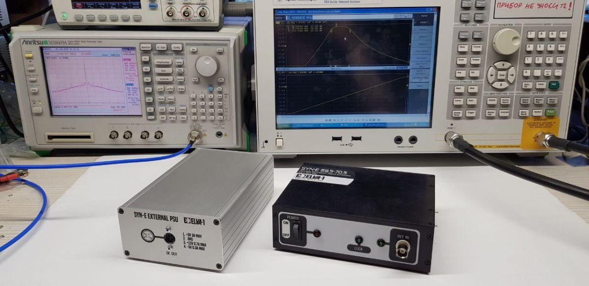 E-band / W-band Signal Generator for Development and Testing of 5G Equipment